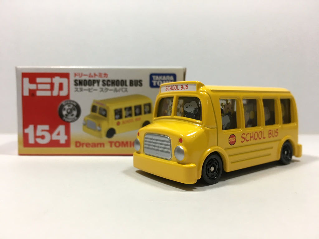 Tomica Dream Snoopy School Bus