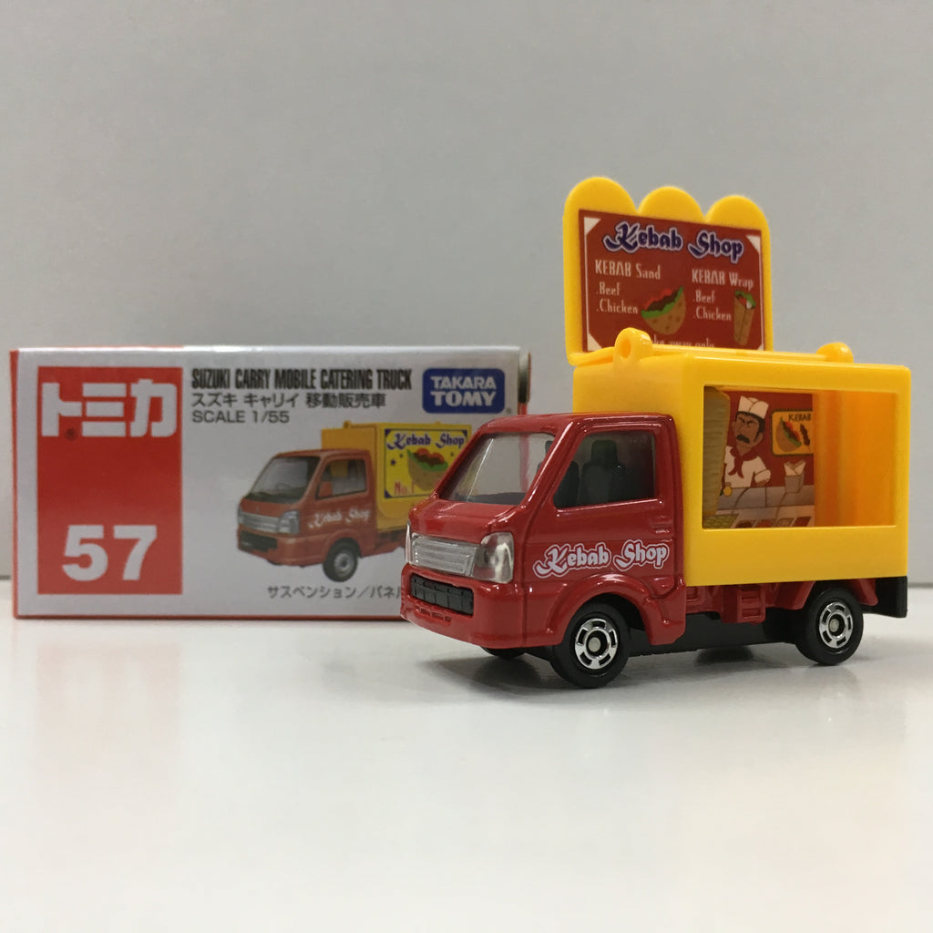 Tomica #57 Suzuki Carry Mobile Catering Truck