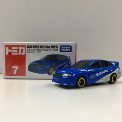 Tomica #7 Subaru Impreza WRX STI 4Door Group R4