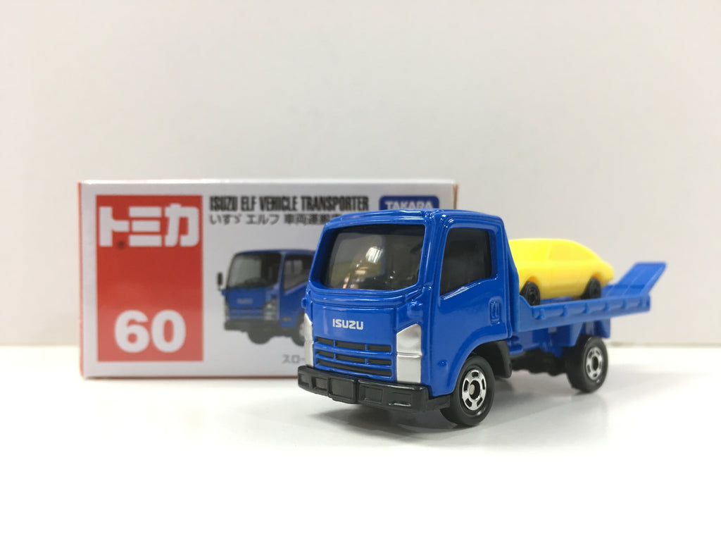 Tomica #60 Isuzu ELF Vehicle Transporter