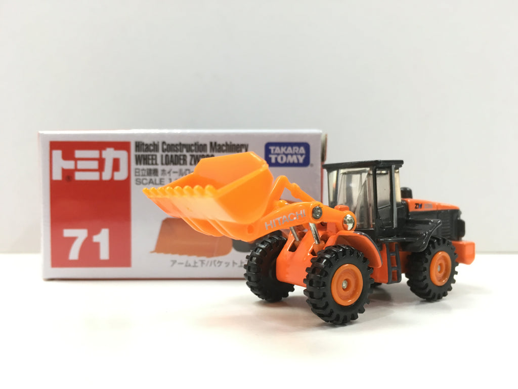 Tomica #71 Hitachi Construction Machinery Wheel Loader ZW220