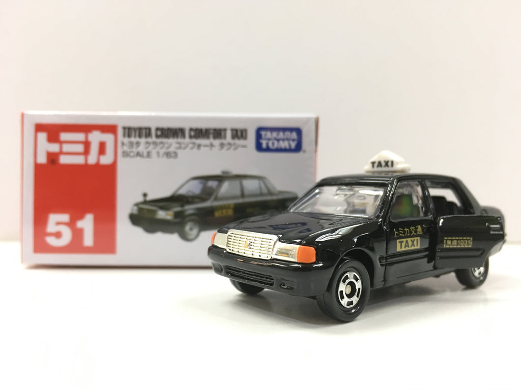 Tomica #51 Toyota Crown Comfort Taxi