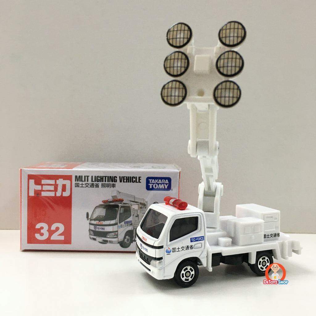 Tomica #32 MLIT Lighting Vehicle