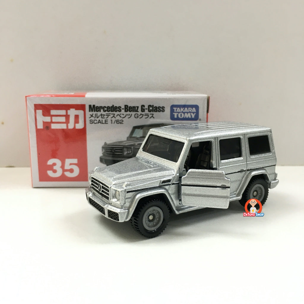 Tomica #035 Mercedes-Benz G-Glass