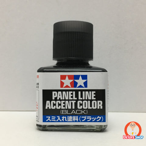 Tamiya 87131 Panel Line Accent Color [Black] 40ml