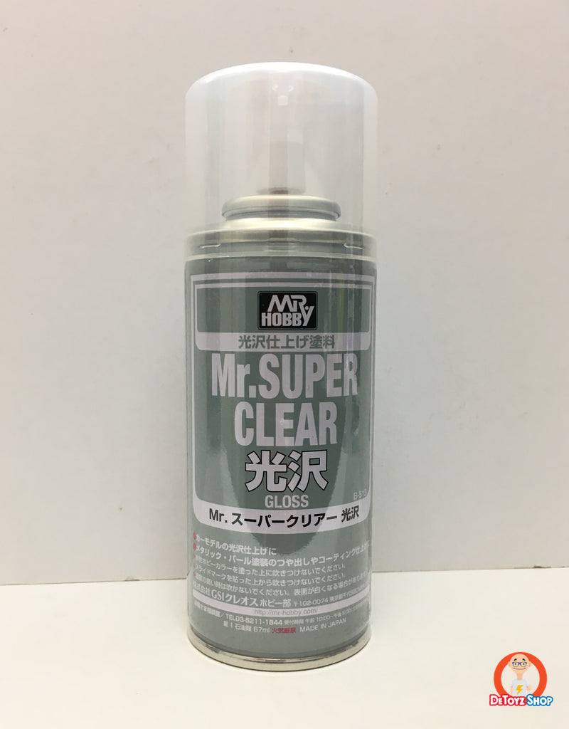 Mr Hobby Mr Super Clear (Gloss) 170ml B-513