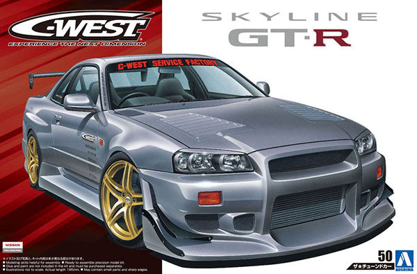 1/24 C-West BNR34 Skyline GT-R '02 (Nissan)