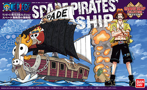 OPGSC Spade Pirates Pirate Ship