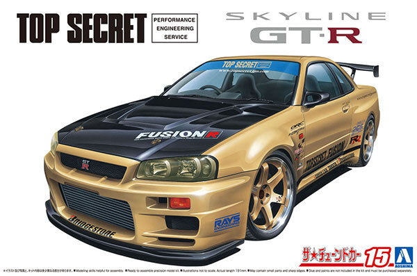 1/24 Top Secret BNR34 Skyline GT-R '02 (Nissan)