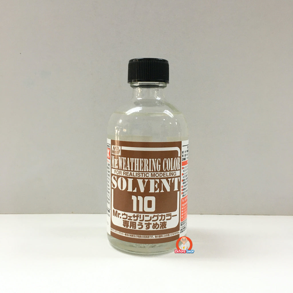 WCT101 Mr Hobby Mr. Weathering Thinner (110ml)