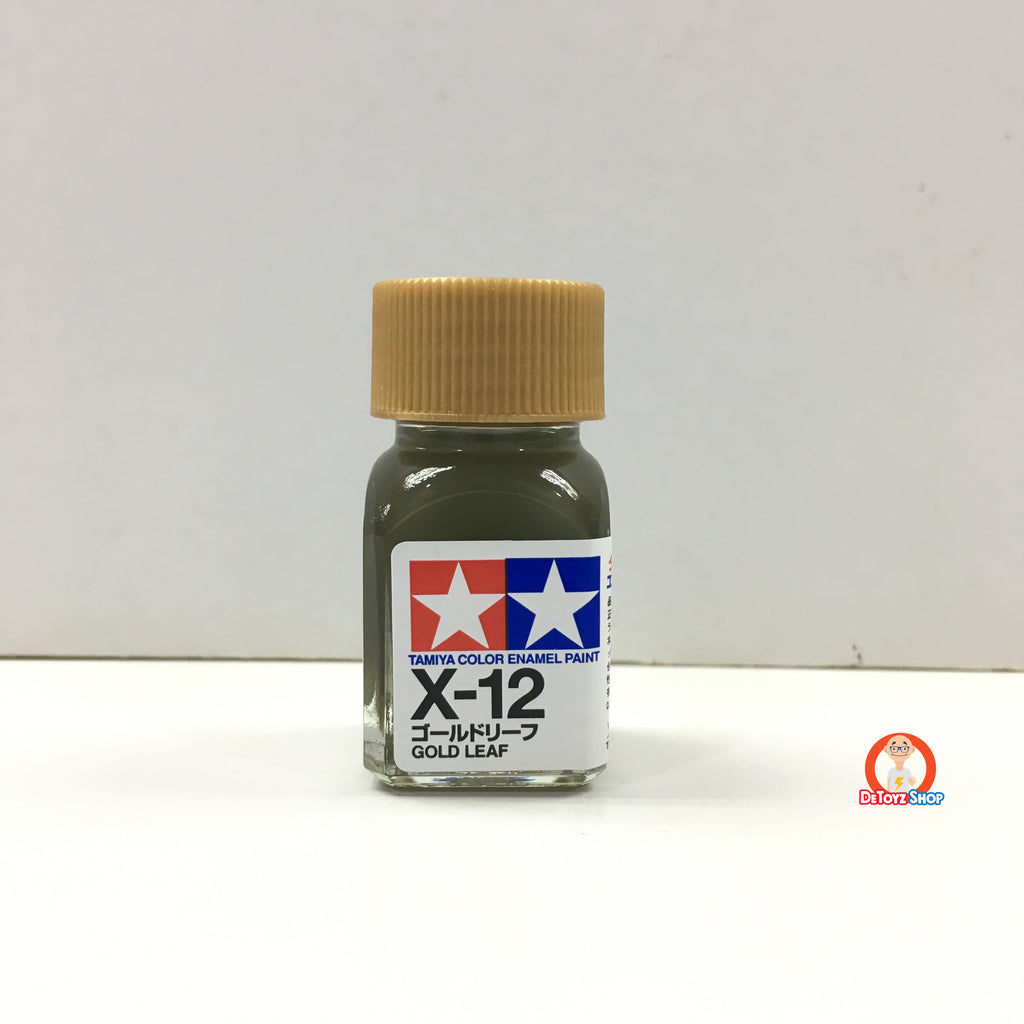 Tamiya Enamel Color X-12 Gold Leaf (10ml)