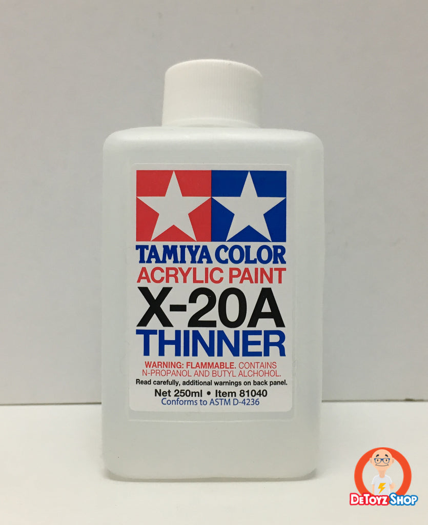 Tamiya Acrylic Thinner (250ml) X-20A