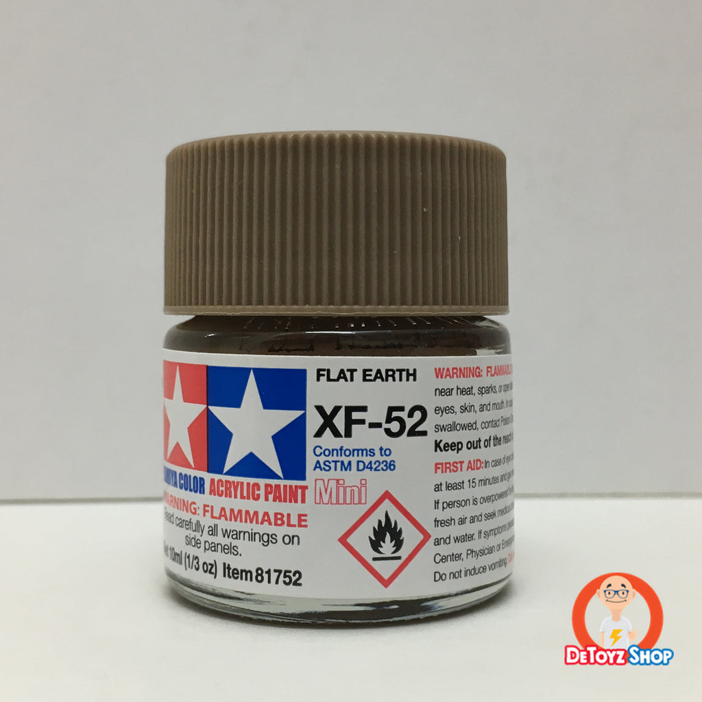 Tamiya Acrylic Color XF-52 Flat Earth (10ml)