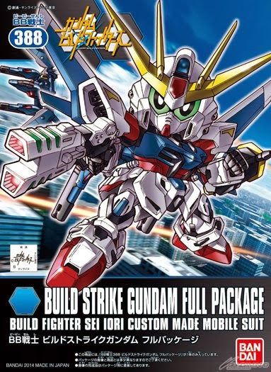 BB388 Build Strike Gundam Full Package