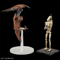 1/12 Star Wars Battle Droid & STAP