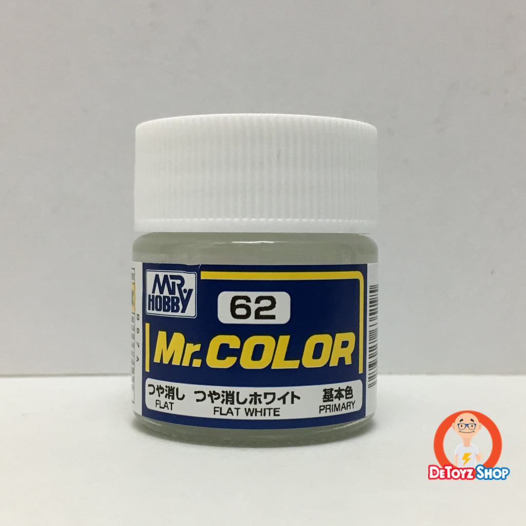 Mr Color C-62 Flat White Flat Primary (10ml)