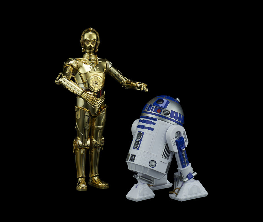 Bandai Star Wars Model Kit - 1/12 C-3PO & R2-D2