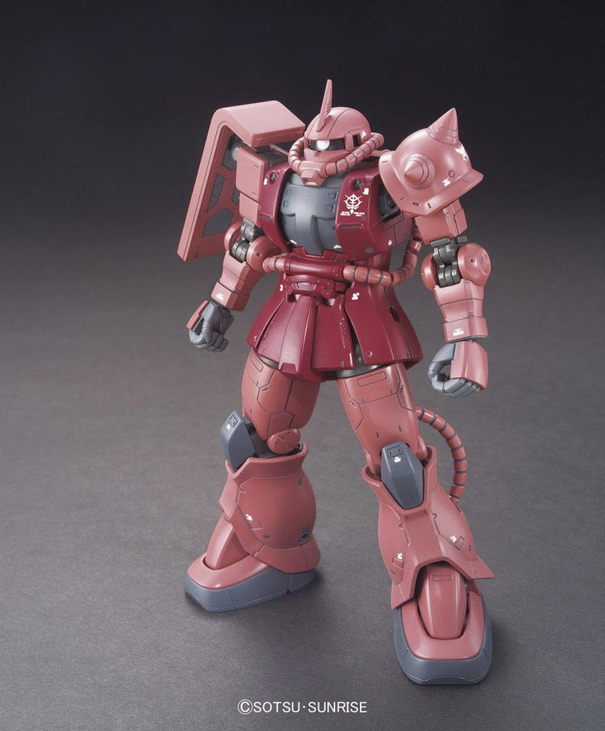 HG Char Aznable's Custom Zaku II (The Origin)