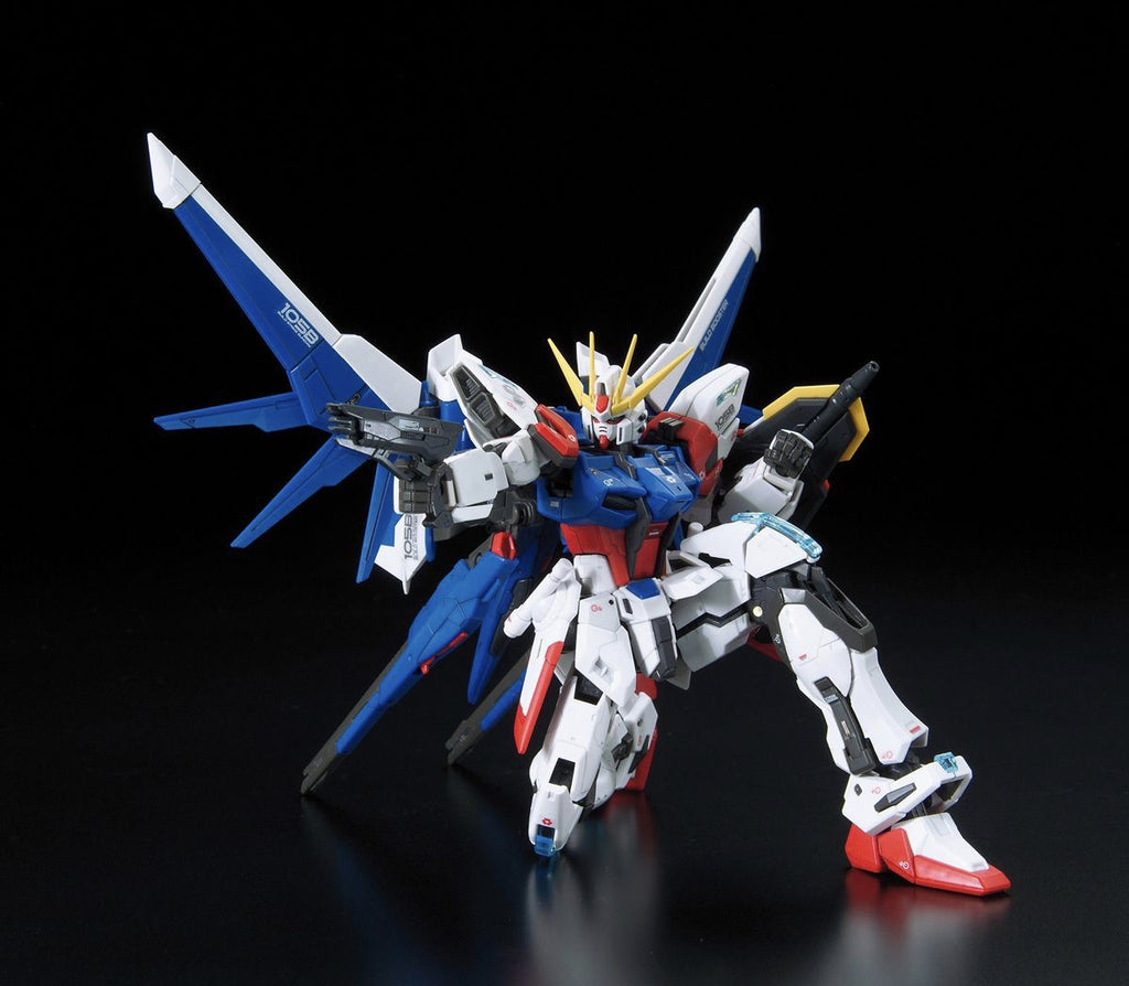 RG GAT-X105B/FP Build Strike Gundam Full Package