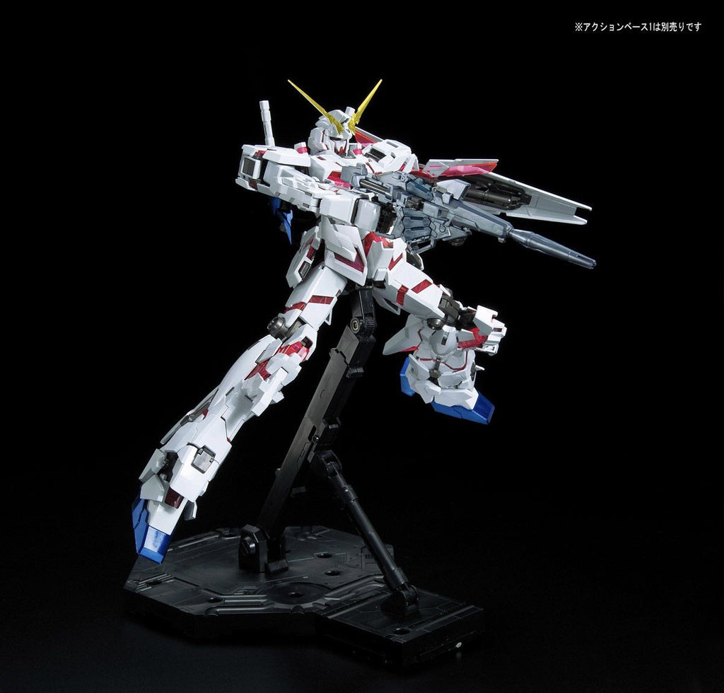 MG Unicorn Gundam (Red / Green Twin Frame Edition) Titanium Finish
