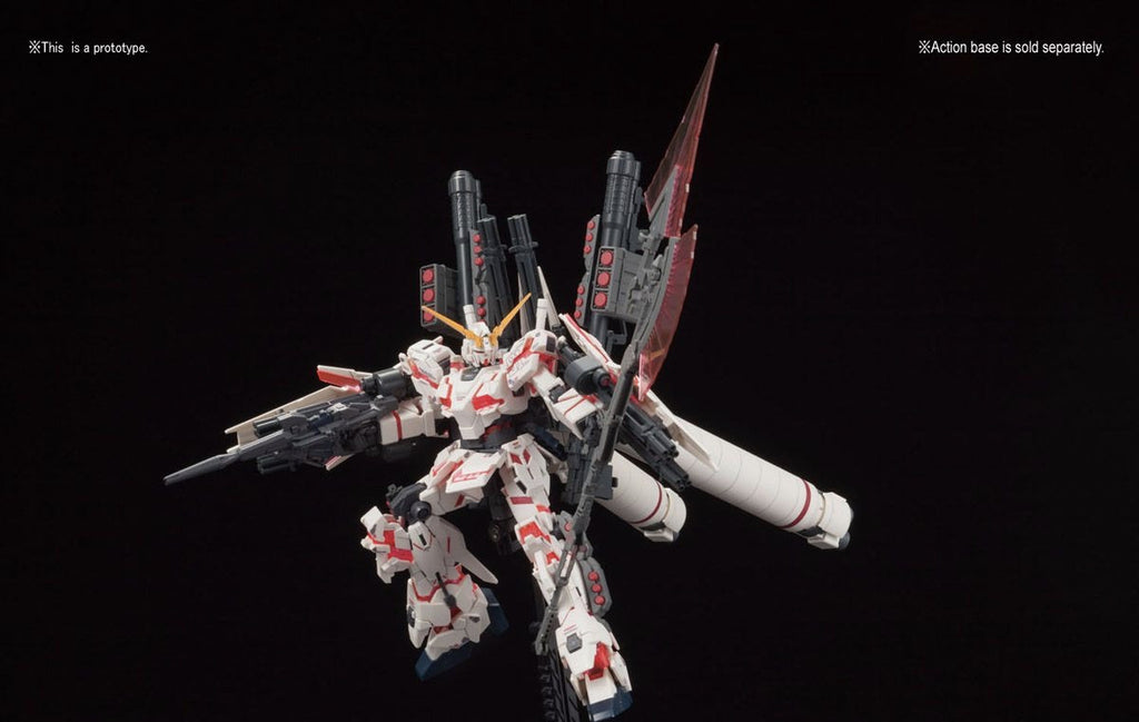 HGUC Full Armor Unicorn Gundam (Destroy Mode/Red Color Ver.)