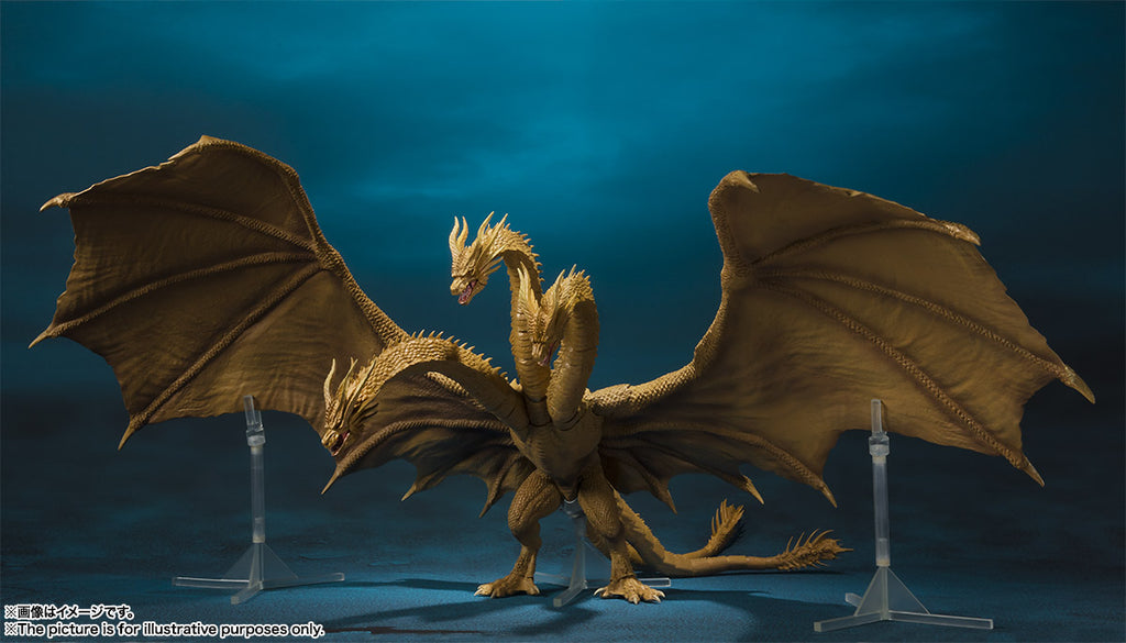 S.H.MonsterArts King Ghidorah (2019)