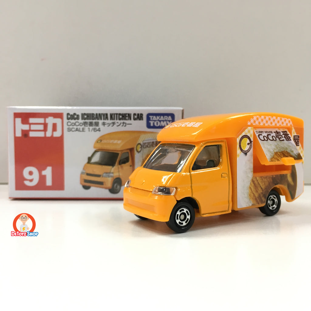 Tomica #091 CoCo Ichibanya Kitchen Car