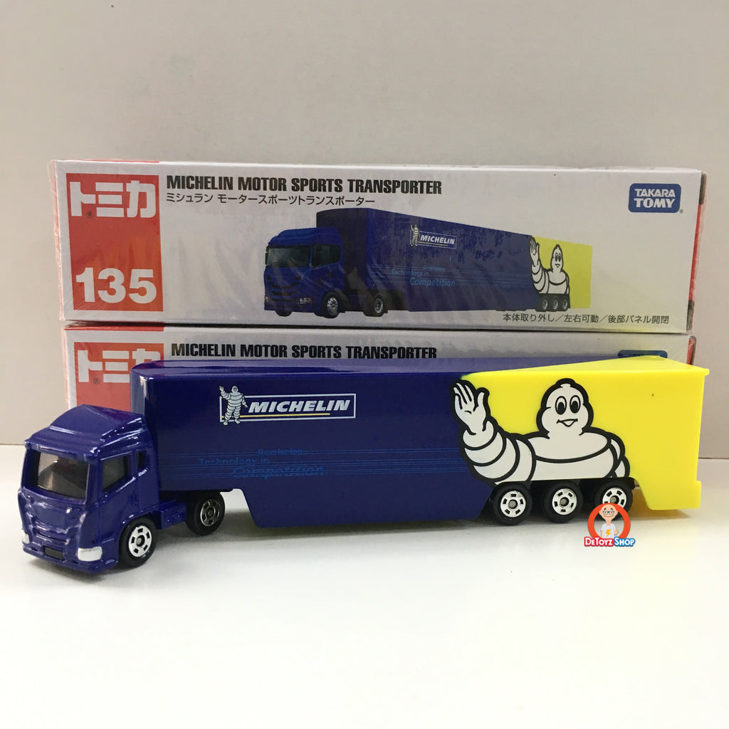 Tomica Truck Michelin Motor Sports Transporter
