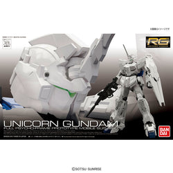 RG RX-0 Unicorn Gundam (*First Limited Package)