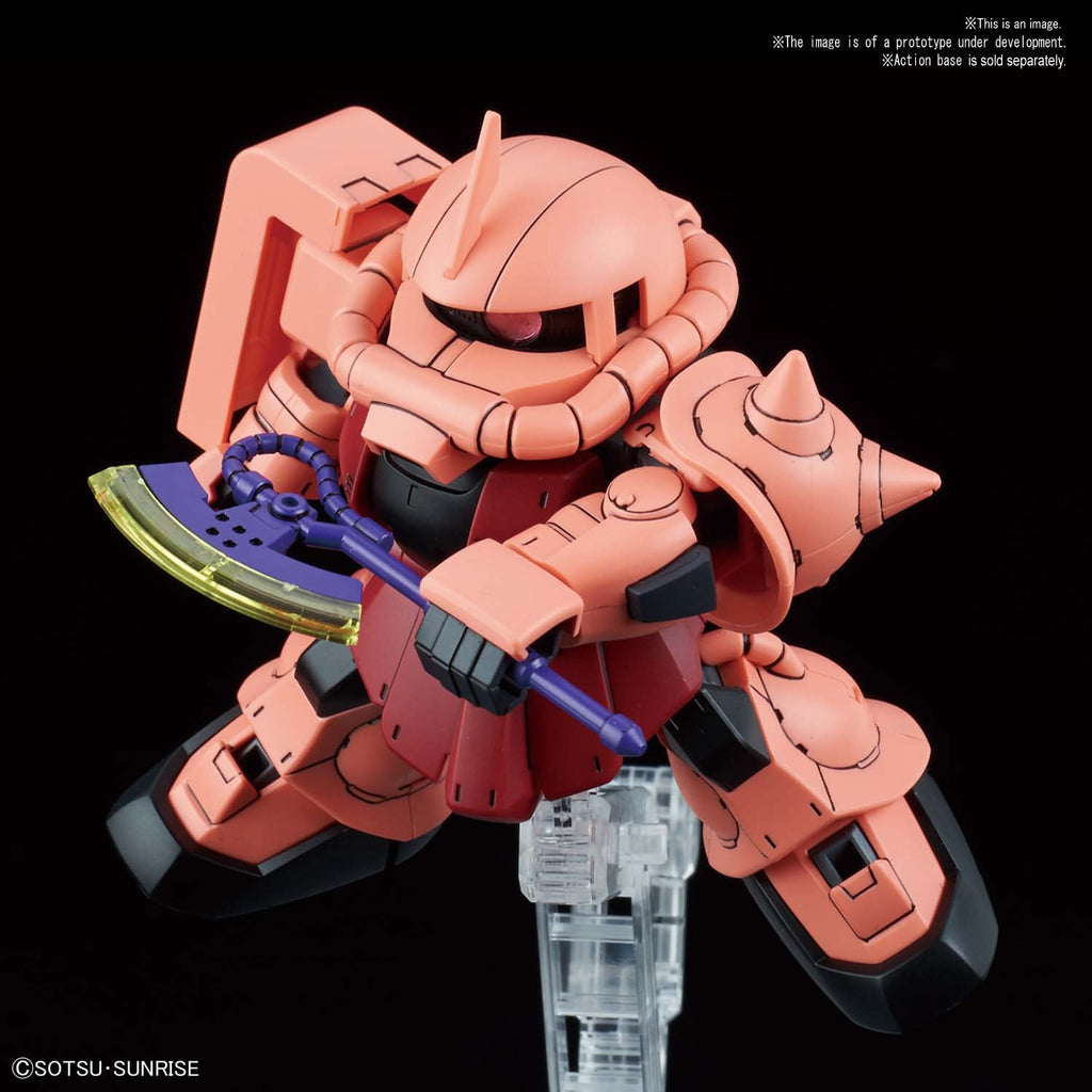 SD Gundam Cross Silhouette MS-06S ZAKU II