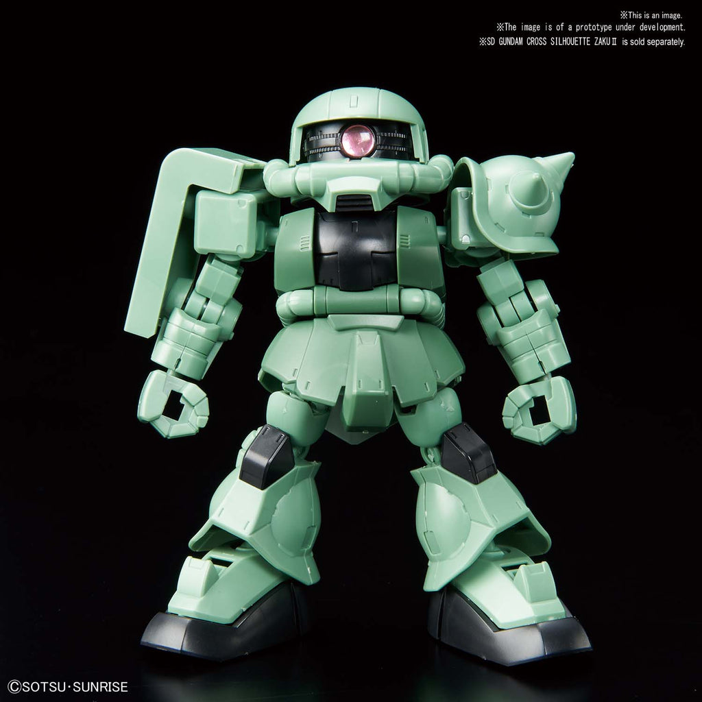 SD Gundam Cross Silhouette Cross Silhouette Frame [Green]
