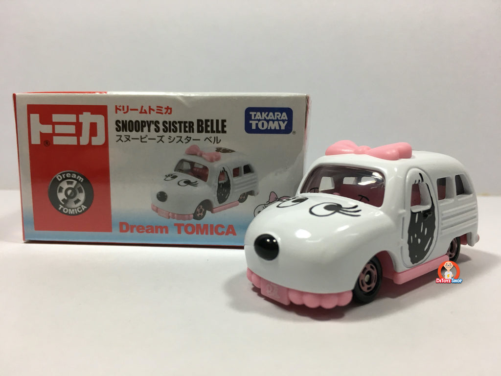 Tomica Dream Snoopy Sister BELLE