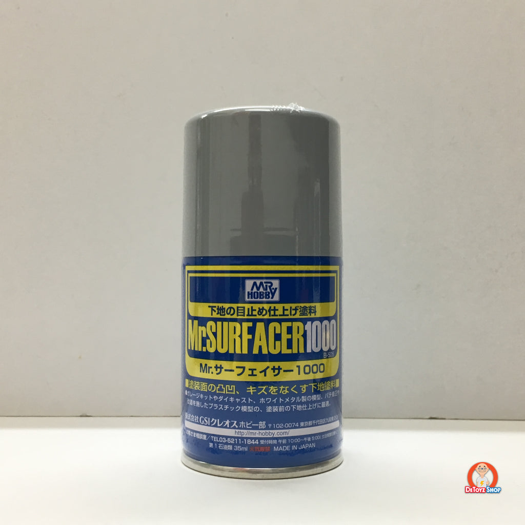 B-505 Mr Hobby Mr Surfacer 1000 Spray (100ml)