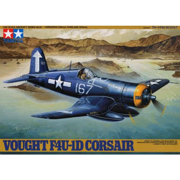 1/48 Vought F4U-1D Corsair