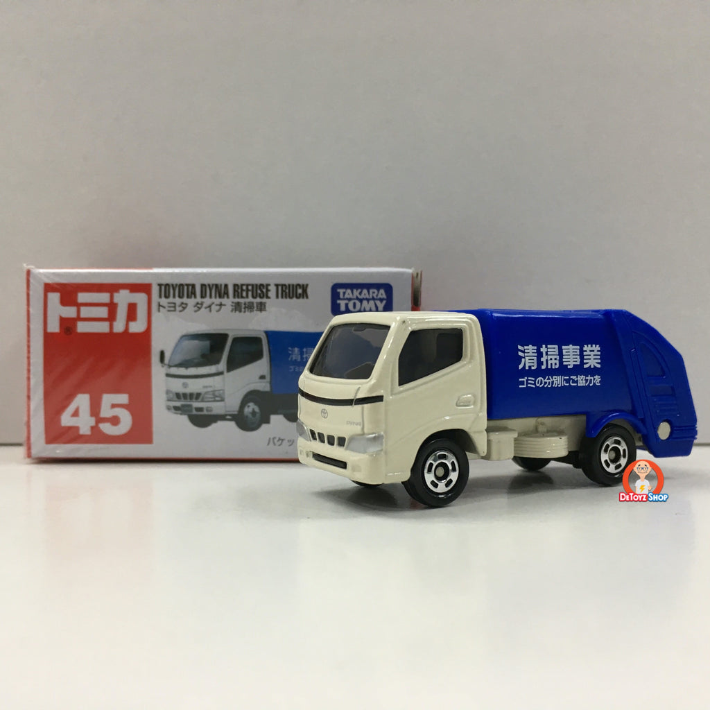 Tomica #45 Toyota DYNA Refuse Truck