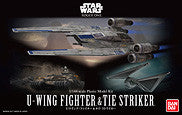 1/144 U-WING FIGHTER™ &  TIE STRIKER™