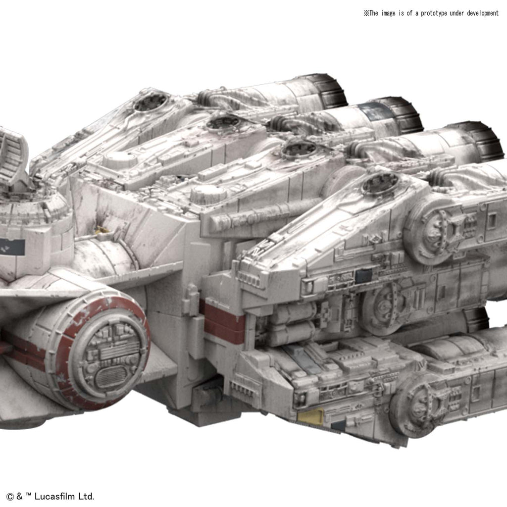 Bandai Star Wars Vehicle Model 014 Blockade Runner