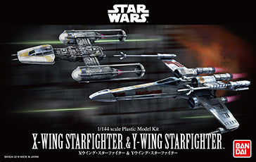 1/144 X-Wing Starfighter & Y-Wing Starfighter set