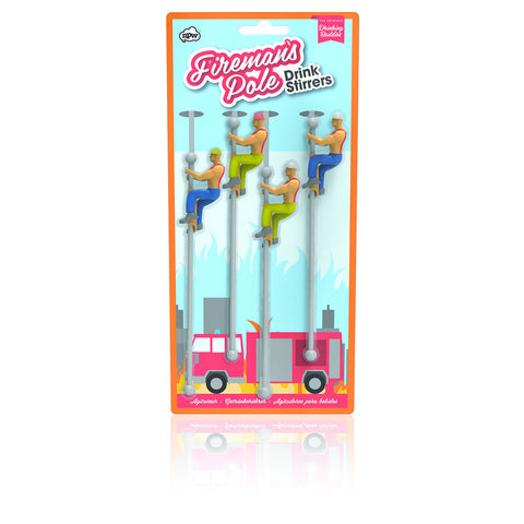Fireman Buddies Drink Stirrers