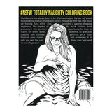 Totally Naughty Coloring Book #NSFW [33920]