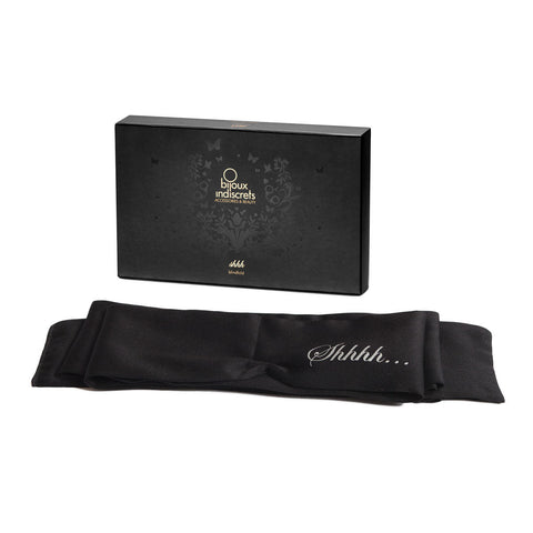 "Bijoux Indescrits - ""Shhh"" Satin Blindfold"