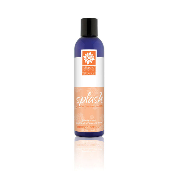 Sliquid Splash Mango Passion Intimate Wash 8.5oz