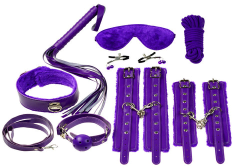 Everything Bondage Kit - Purple [89202]