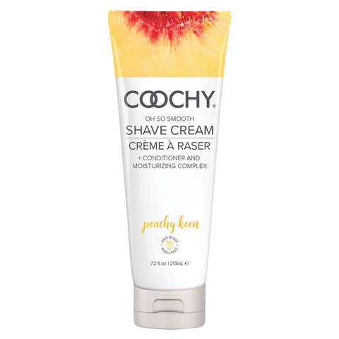 Coochy Shave Cream 7.2oz Peachy Keen [A01896]