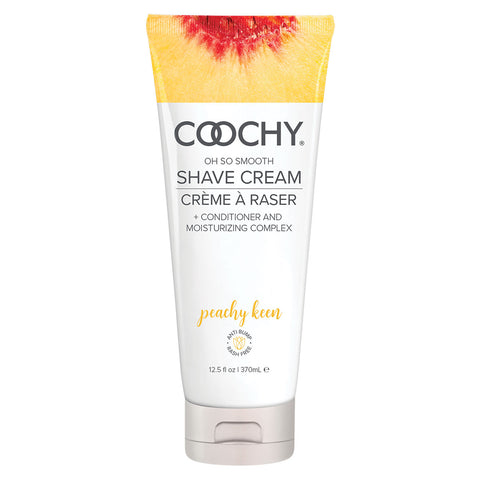 Coochy Shave Cream 12.5oz Peachy Keen [A01897]