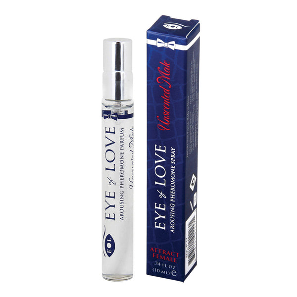 Eye of Love Arousing Pheromone Spray .34oz – Unscented Male [A02893]