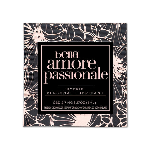 Bella Amore Passionale Hybrid Lube - 100pc Pillow Packs