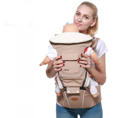 Luxury 9 in 1 Ergonomic Hipseat Baby Carrier - Bubs Factory