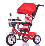 Child tricycle trolley 1 - 3 - 5 years old bike baby bicycle baby car - Bubs Factory