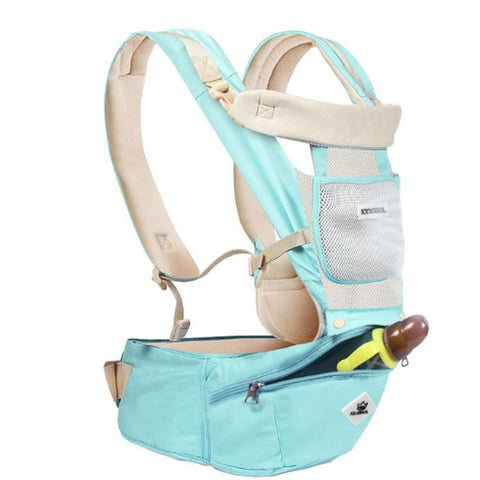 Kigrol™  Ergonomic Backpack Kangaroo  Style Newborn Ready Baby Carrier with Free diaper bag